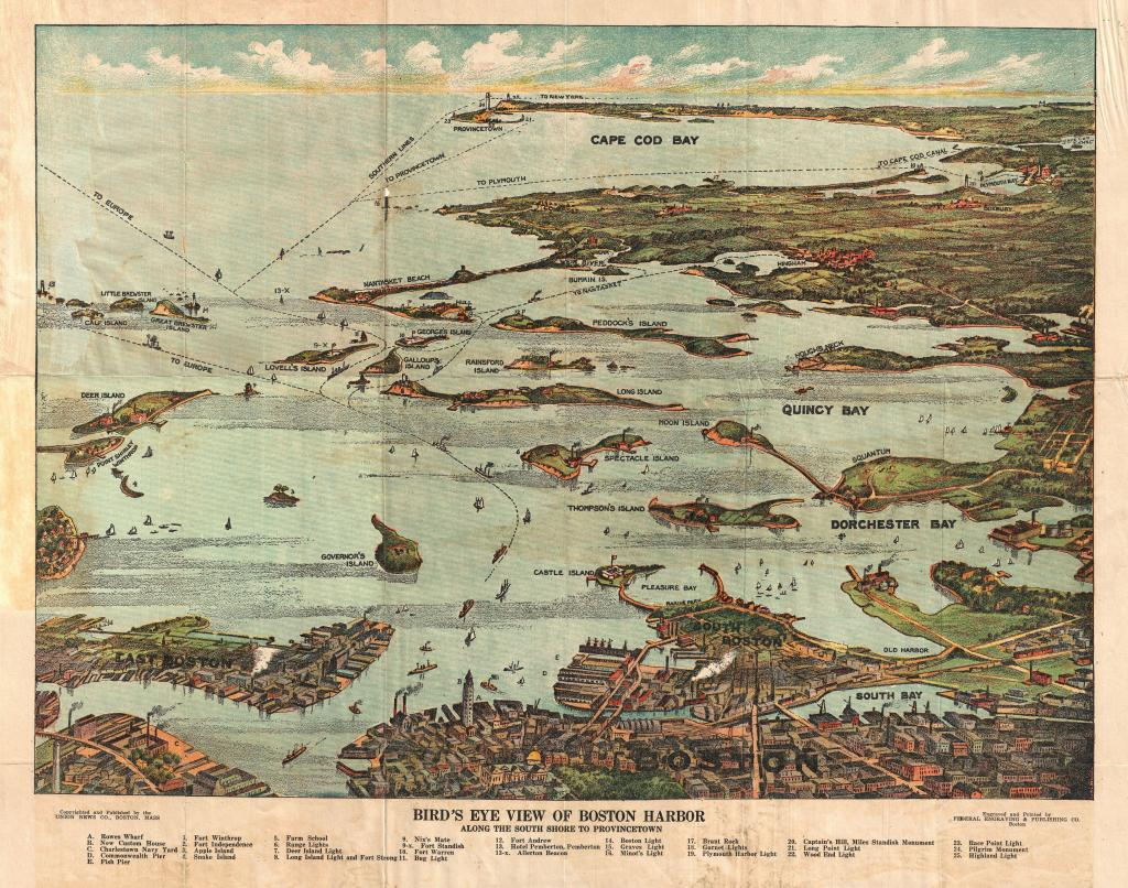 1899_View_Map_of_Boston_Harbor_from_Boston_to_Cape_Cod_and_Provincetown_-_Geographicus_-_Boston-unionnews-1899